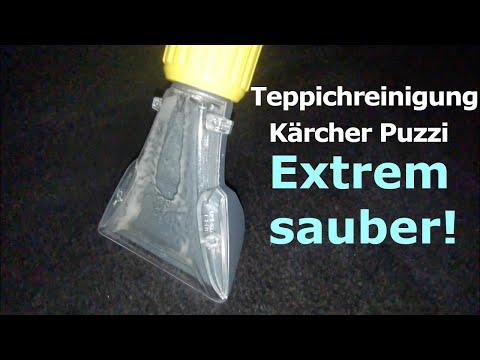 Teppich Polster Stoffsitze reinigen | mit Kärcher Puzzi 8/1 C | Detailing | Sprühextraktionsgerät