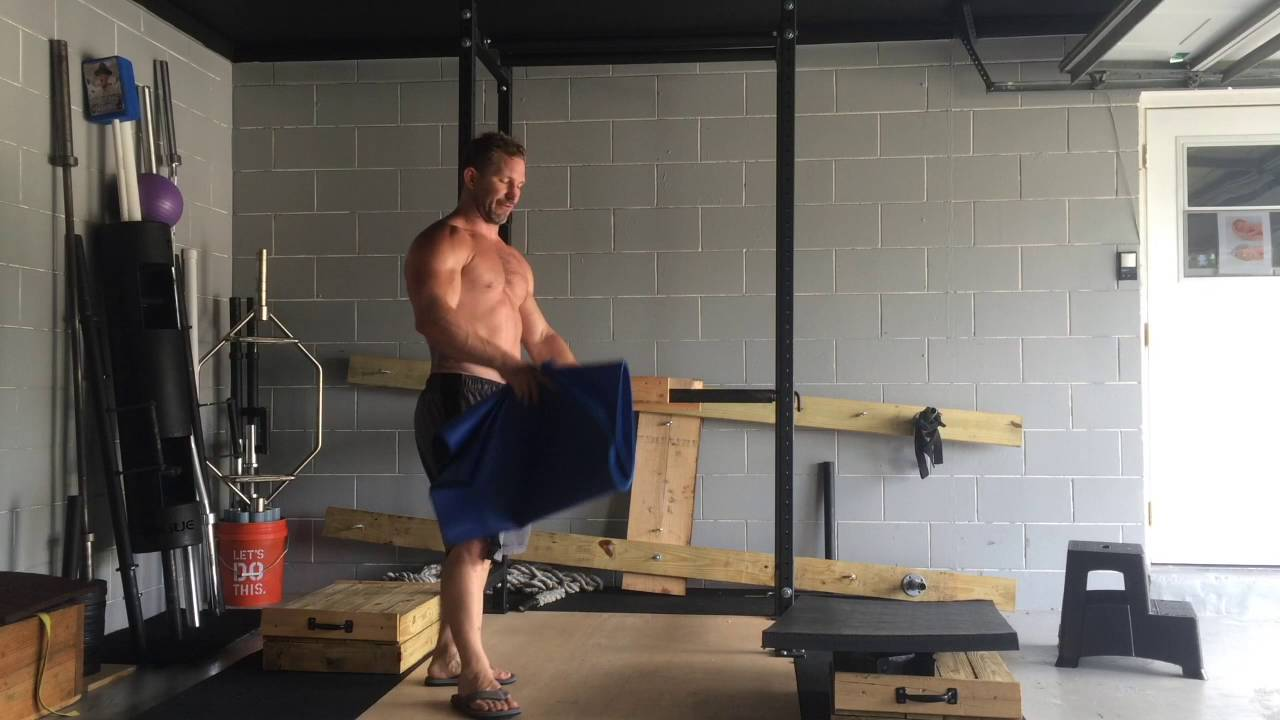 Build Your Own Garage >> Homemade Reverse Hyper/ Back Extension/ GHR for - YouTube