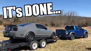 Delivery of my 900hp SHELBY GT500