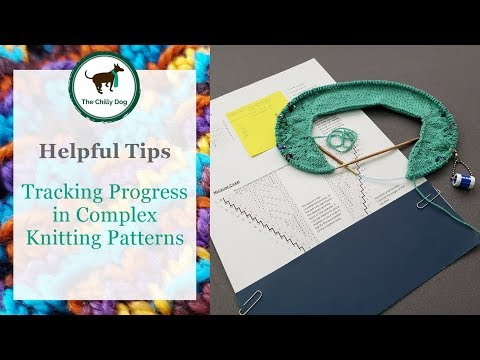 Tracking Your Progress In Complex Knitting Patterns