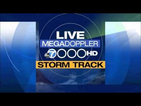 Los Angeles weather (KABC-TV) - February 2014 storm reports