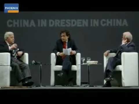 """""""Nachbar China"""" - Helmut Schmidt und Kurt Biedenkopf diskutieren"""