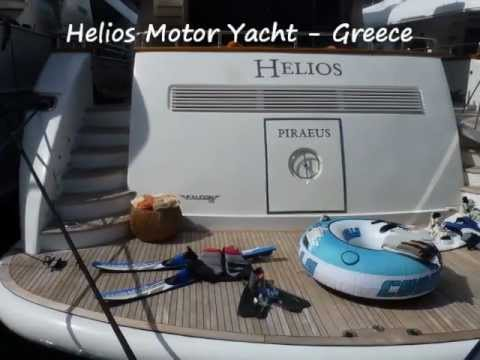 Greek Charter Motor Yacht Helios; Pictorial Review