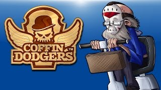 Coffin Dodgers (Oldlirious racing from Death!) With Old Grumpy Friends