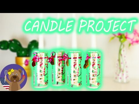 Arizona Ice Tea Candle Project | Modern Christmas Decoration | Christmas DIY Projects