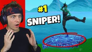 i used only vaulted snipers to win in fortnite... (real aimbot?)
