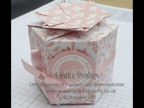 Stampin' Up! Hexagonal Box with Twist Closure