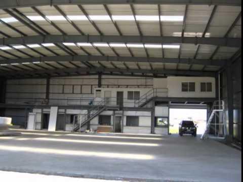 Pre engineered steel building for hangar youtube for 40x80 steel building