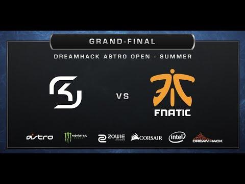 CS:GO - SK-Gaming vs. Fnatic - Mirage - Grand-final - DreamHack ASTRO Open Summer 2017
