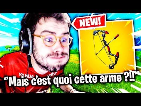 JE TEST LE NEW ARC DANS MA MEILLEURE GAME DE TOURNOI FORTNITE !!!