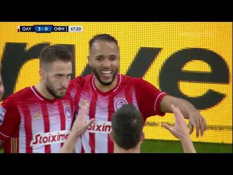 Olympiakos OFI Crete Goals And Highlights