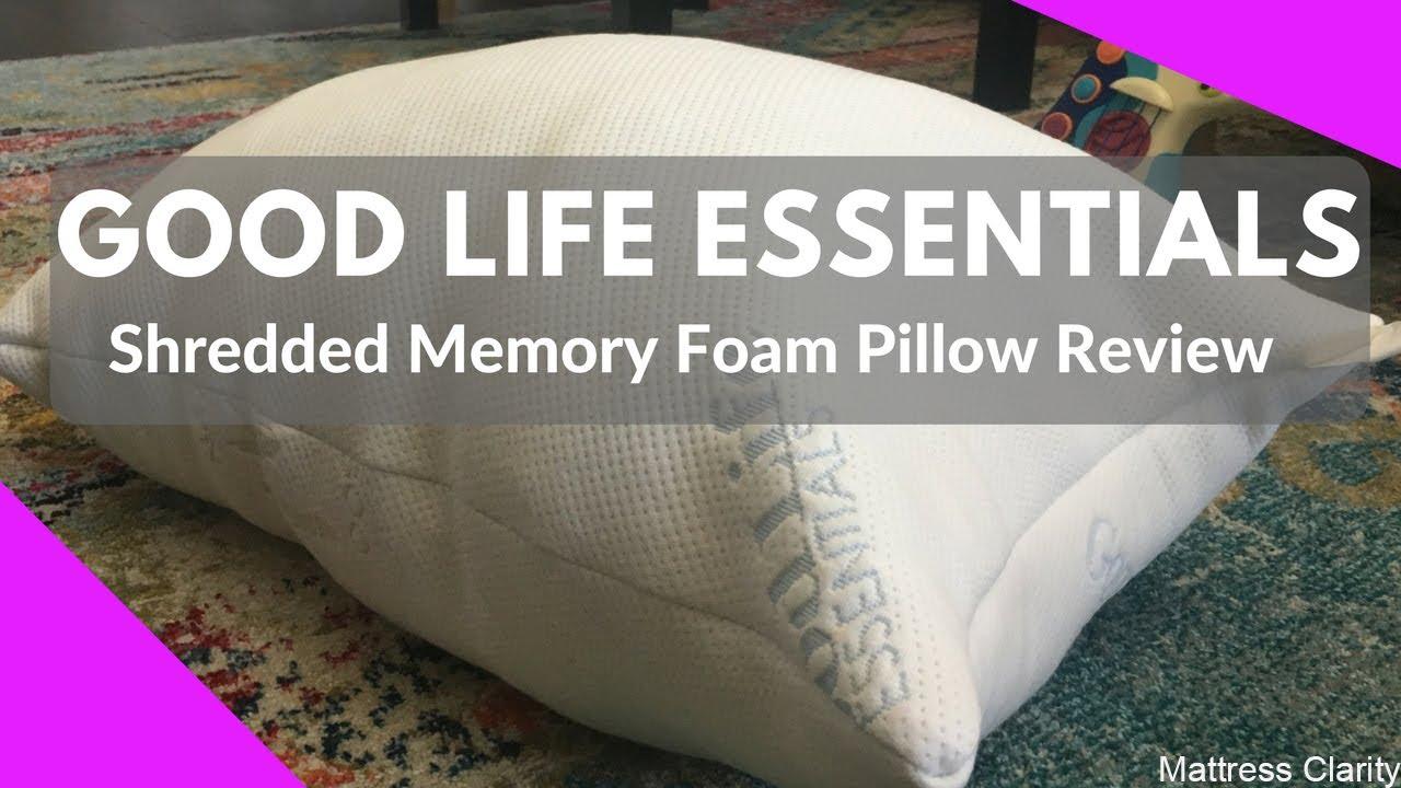 coop memory pillow original shredded foam goods home reviews review