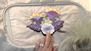 The Stabilizers Tutorial: Free Standing Designs: Applique