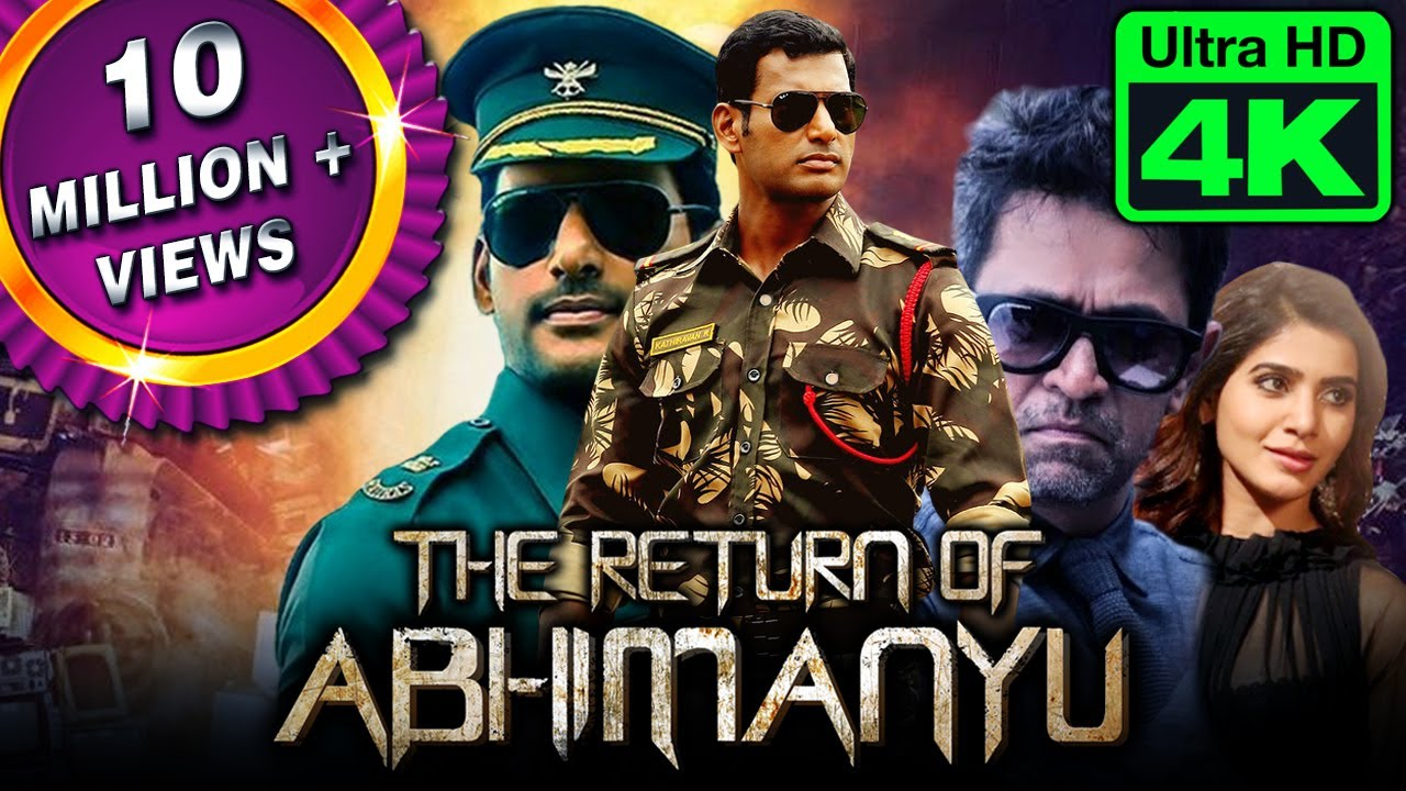 Download The Return of Abhimanyu (4K Ultra HD) Hindi Dubbed Full Movie | Vishal, Samantha