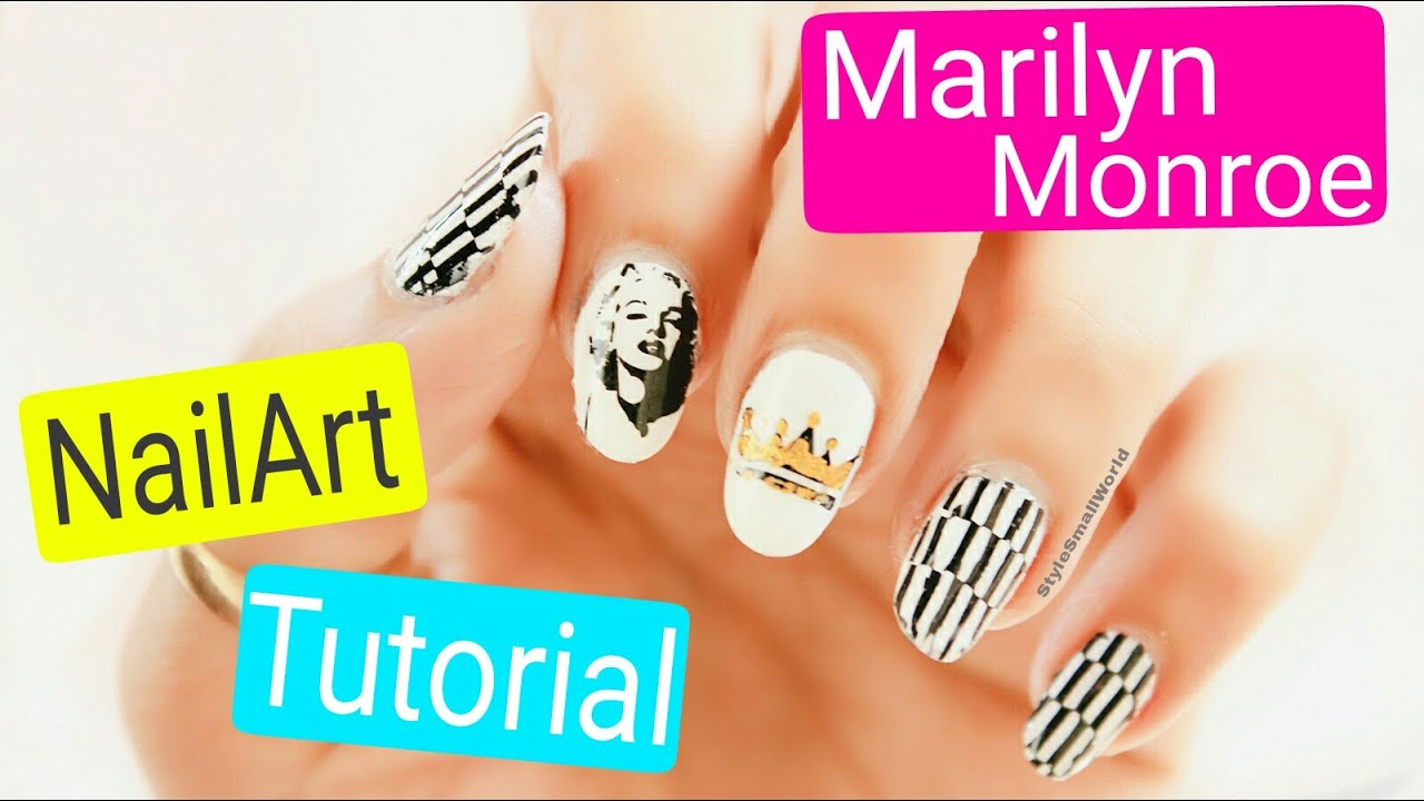 Marilyn Monroe Nail Art Designs | 3 Amazing Nails Ideas | Style ...