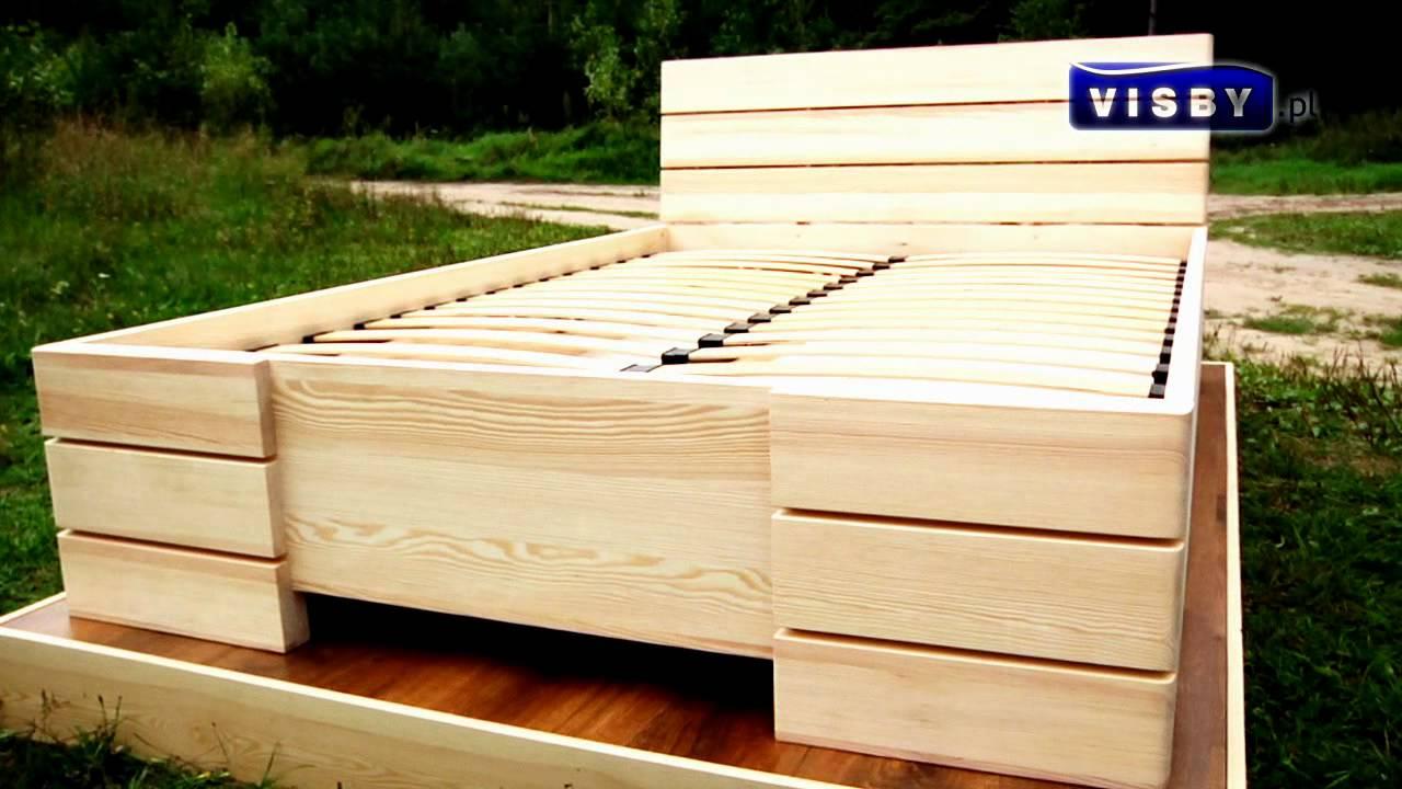 łóżko Visby Sandemo High Wwwvisbypl