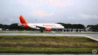 HD - Airbus A319 Avianca - Jose Joaquin de Olmedo Intl