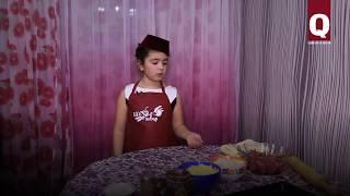 8-летняя Адиля Ибрагимова готовит крымскотатарские блюда