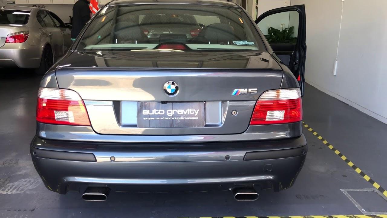 Dynavin N7-E39 with Apple CarPlay installed for BMW E39 M5