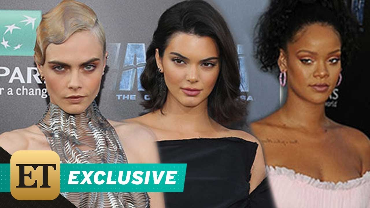 Rihanna and Cara Delevingne Steal The Show at The Valerian Premiere