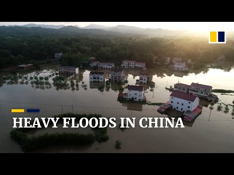 Deadly floods and torrential rain in China affect over 8.5 million people