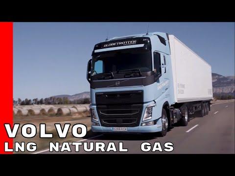 LNG Natural Gas Powered Volvo FH & FM Trucks