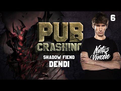 Pubs Crashing: Dendi on Shadow Fiend vol.6