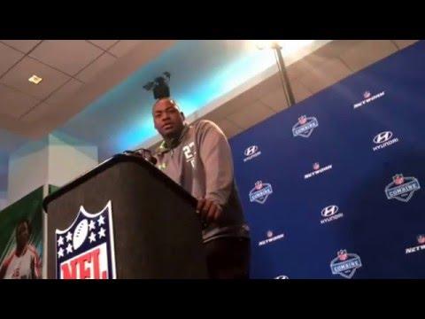 NFL Combine Update Chris Jones Mississippi State Defensive Line #NFLCombine