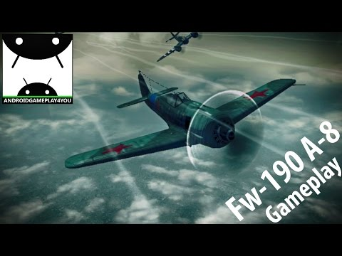 War Wings Android (Fw-190 A-8) GamePlay [60FPS]