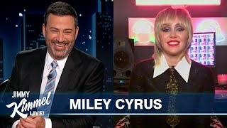 Miley Cyrus on Her Mullet, New #1 Rock Album Plastic Hearts & Superfan Game