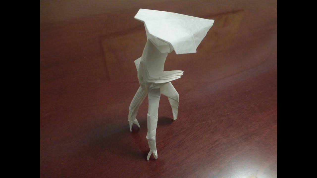 Origami alien tripod tutorial by gonalo chambel youtube origami alien tripod tutorial by gonalo chambel jeuxipadfo Images