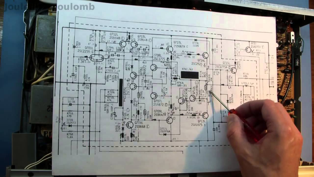 Hitachi Ha-4700 Amplifier Repair - Part Two