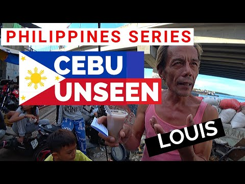 Back Streets Of Cebu  The Untold Side Of Cebu Philippines 4K