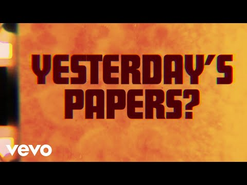 The Rolling Stones - Yesterday's Papers (Lyric Video)