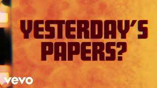 The Rolling Stones - Yesterday's Papers (Official Lyric Video)
