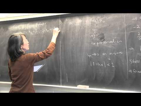 CMPSC/Math 451. April 15, 2015.  Stiff systems of ODEs. Implicit vs explicit method. Wen Shen