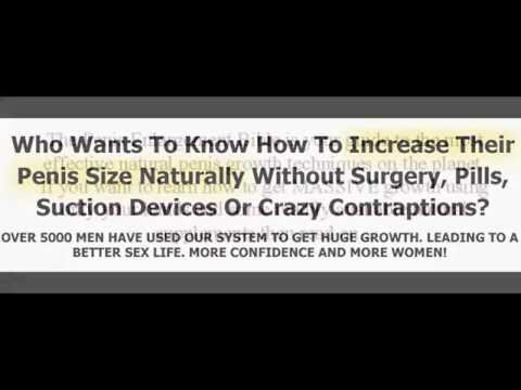 How To Grow Your Penis Naturally