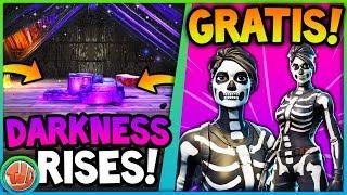 *GRATIS* DE SKULL RANGER UNLOCKEN!! DARKNESS RISES!! - Fortnite: Battle Royale