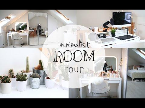 ROOM TOUR 2 - Minimalist Loft Bedroom // hattiee_amelia