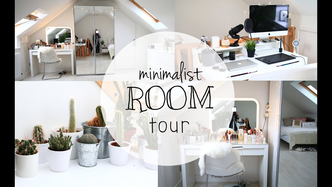 Room Tour 2 Minimalist Loft Bedroom Hattiee Amelia