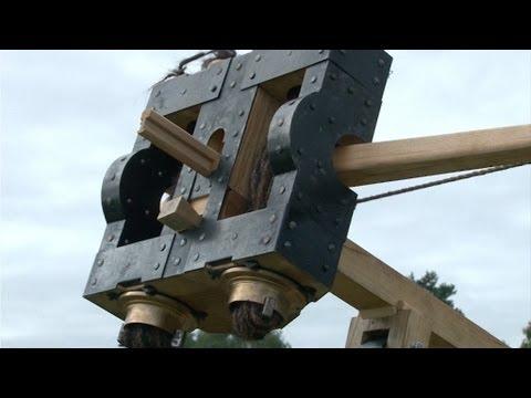 Rekonstruktion eines römischen Feldgeschützes