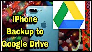 iPhone Auto Backup to Google Drive