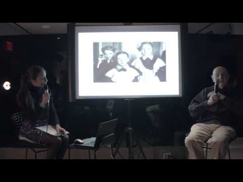 Duane Michals X Lolita Cros talk at Hotel Americano