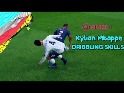FIFA 2020 PS4 Gameplay Kylian Mbappe Dribbling Skills and Goals with Skill