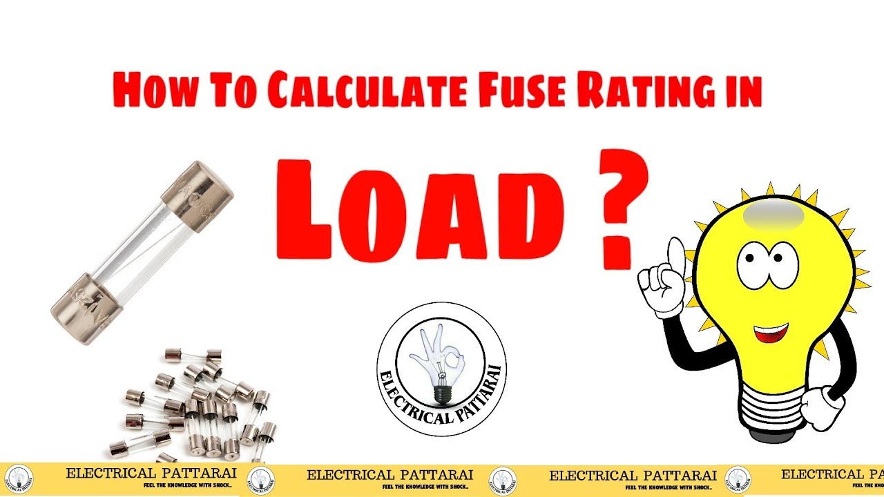 how to calculate fuse rating