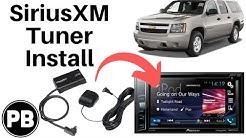 How To Install a Sirius Satellite Radio Tuner To a New Radio