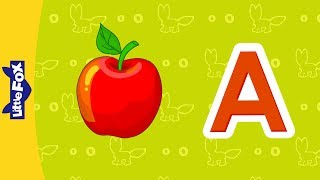 Letter A   Phonics Songs   Little Fox   Animated Songs for Kids