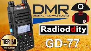 Radioddity GD-77 DMR радиостанция