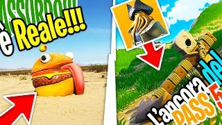 THE DURR BURGER IN CALIFORNIA?! PASS 5 - Fortnite Battle Royale ITA