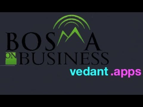 Vedant Apps on Bosma on Business - Radio Show